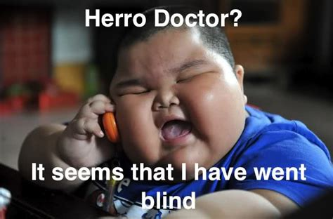 Funny Fat People Meme - redhotpogo fat chinese kid meme