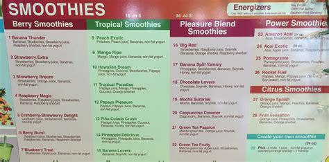 Garden Fresh Grill & Smoothie Menu   Evan's Menus