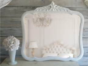 Turquoise Bathroom Vanity Vintage Shabby Chic Mirror Cottage Chic French Country