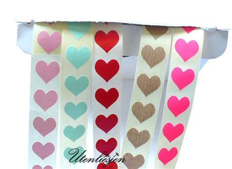 Herz Aufkleber Rolle by Sticker Aufkleber Mit Spr 252 Chen Oder Blanko Utenliesjen