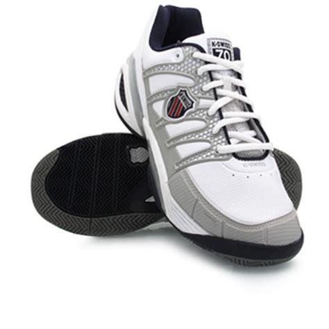 k swiss defier mens tennis shoes white grey