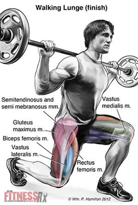 Improve Your Bench Press Fitness Exercises Abs Walking Lunge Muscles Worked