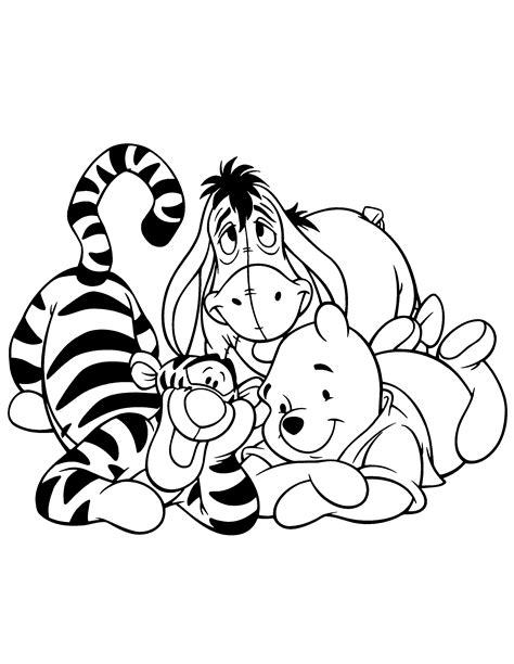 Coloring Pages Winnie The Pooh by Winnie The Pooh Coloring Pages 20 Coloring