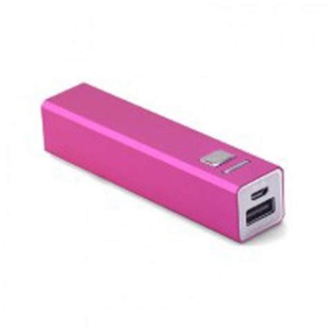 Powerbank Evercoss 2600 Mah ergenic powerbank 2600 mah roze