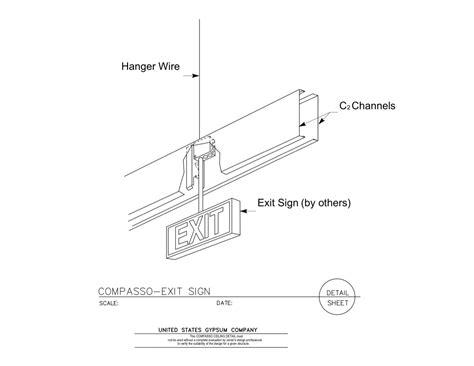 exit layout view autocad usg design studio dwc20 hat channels download details