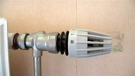 probleme robinet thermostatique comment reparer thermostat radiateur