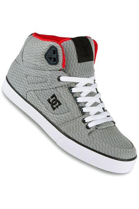 Shoes Dc Original 4 dc spartan high wc tx se shoe grey buy at skatedeluxe