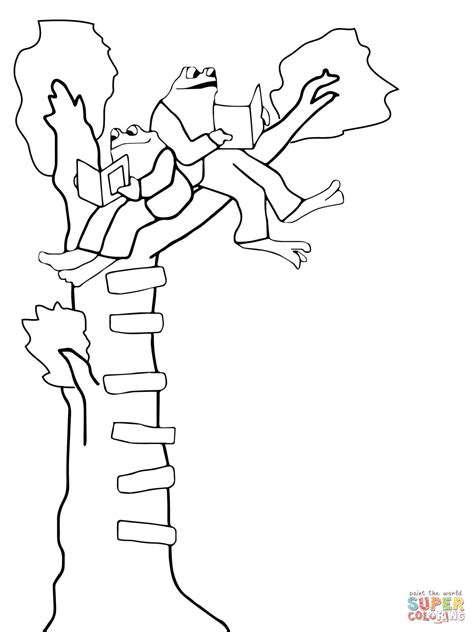 coloring pages frog and toad frog and toad coloring page free printable coloring pages
