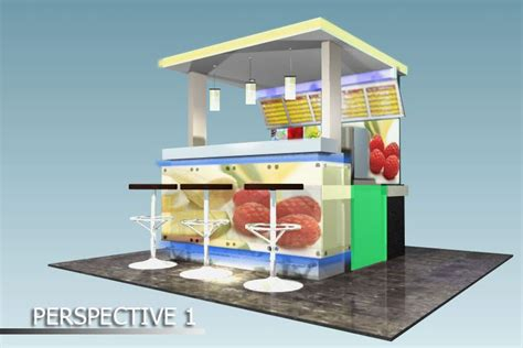 Juicer 4 Juta ipg langit biru production booth for fruit shop