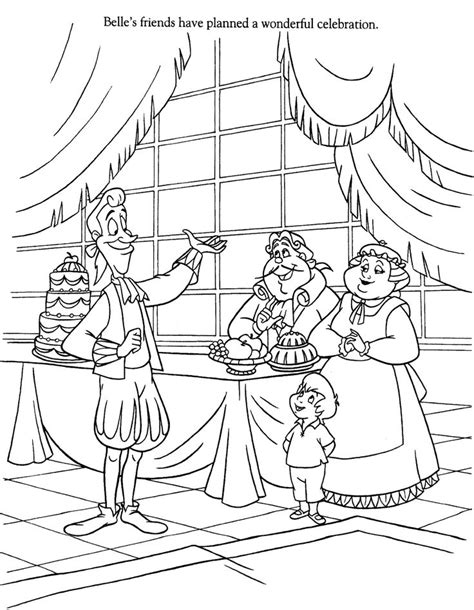 beauty and the beast teapot coloring pages beauty and the beast coloring pages disney coloring