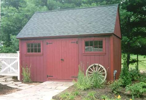 plywood colonial    plan   barns