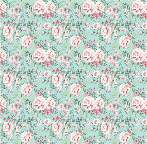 vintage flowers pattern seamless vintage flower pattern on navy background