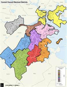 Boston Ward Map by List Of Members Of Boston City Council Wikipedia