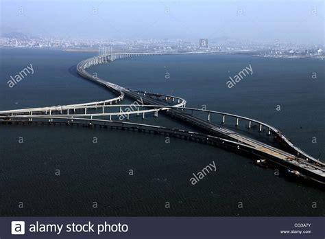 qingdao bridge longest sea bridge the qingdao haiwan bridge was completed