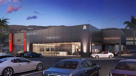 Maserati Dealership Renderings Ripple Creative
