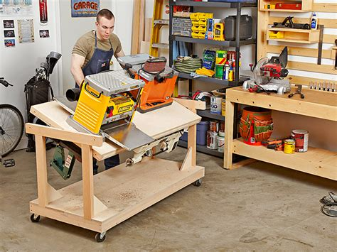 building a tool bench flip top bench woodworking plan for the space starved