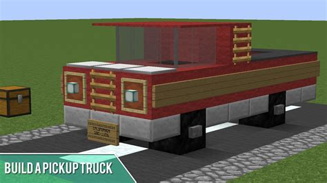 minecraft truck minecraft how to build a pickup truck youtube