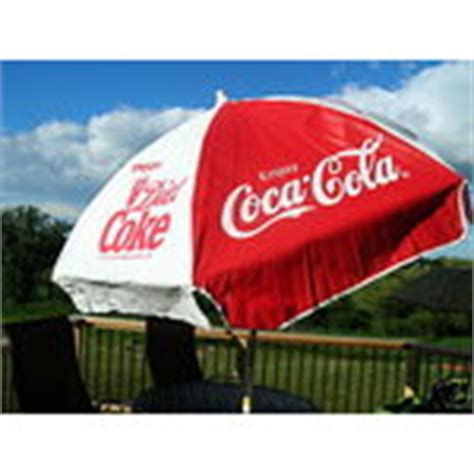 Coca Cola Patio Umbrella Authentic Coca Cola 6ft Patio Umbrella 07 11 2008