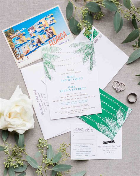 seaside postcard wedding invitations wedding invitations that set the mood for a seaside