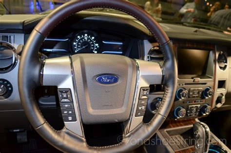 Ford Expedition 2015 Interior by 2015 Ford Expedition Launches With More Technology Fresh Look