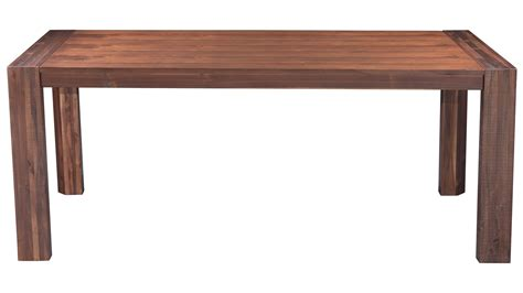 Wood Extension Dining Table Colville Acacia Wood Extension Dining Table Chestnut Zuri Furniture
