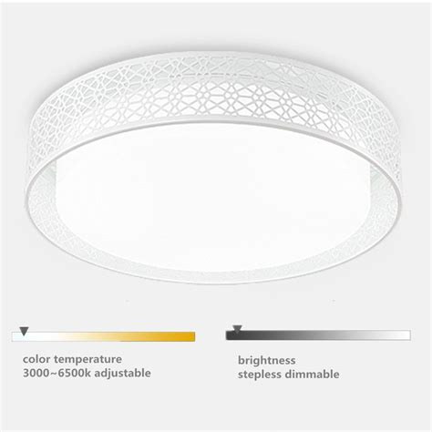 wireless led ceiling light with remote control 24w dimmable wireless remote control led ceiling flush