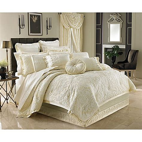 j queen comforter set j queen new york marquis queen comforter set bed bath