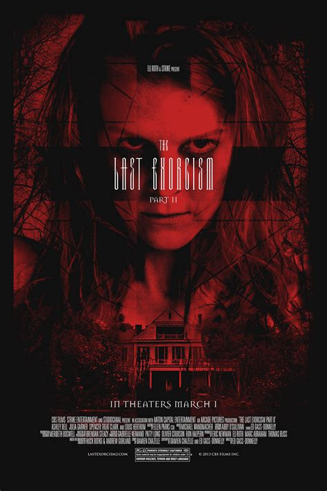film horror esorcismo win a limited edition the last exorcism part ii poster