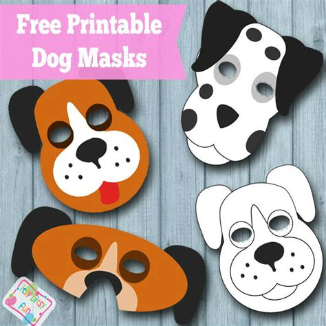 printable dog mask template best photos of dog mask to cut out printable dog mask