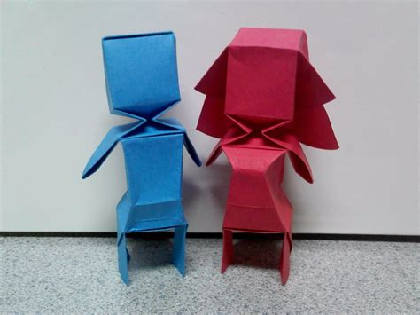 Origami Boy - origami bloxy boy and by theorigamiarchitect on