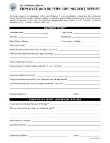 hr incident report template best photos of human resources incident report template