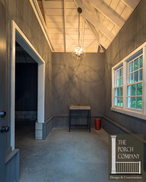 adding mudroom built ins to the garage the kim six fix screened porch and garage oasis the porch companythe