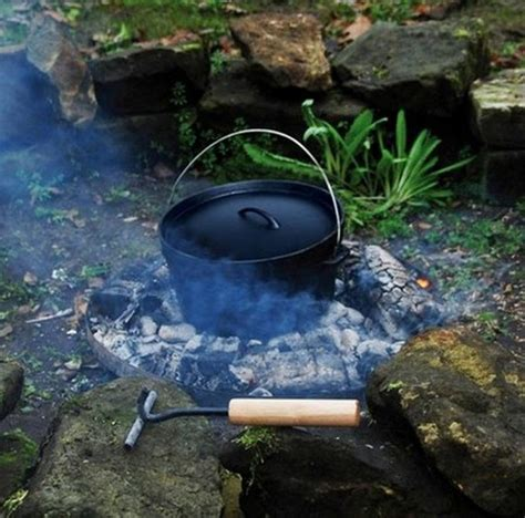 Cooking Pot Hangers Cooking Pot Hanging Cast Iron Oven By Garden
