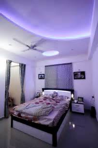 blue false ceiling contemporary bedroom other metro