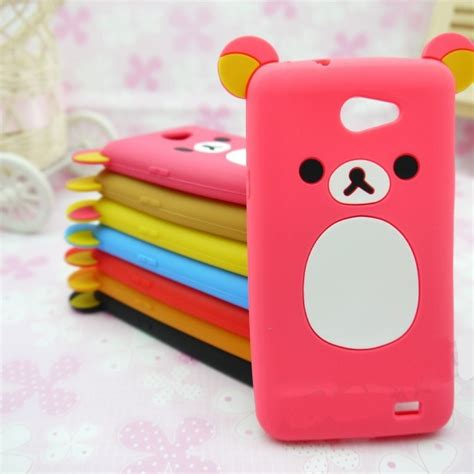 Iphone 6 4 7inchi 3d Teddy Brown Soft Silicone T1910 1 lovely relax teddy soft silicone lucky cover for htc cell phones ebay