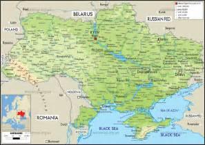 map of ukraine ukraine maps mapsof net