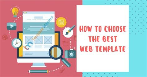 Know How To Choose The Best Website Template How To Choose Website Template