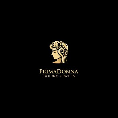 logo design luxury primadonna luxury jewels logo logo design gallery