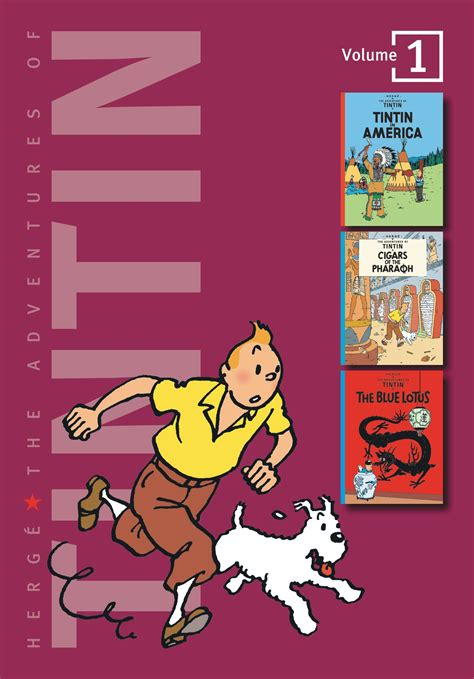 the adventures of tintin volume 1 brown books