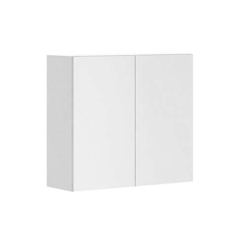 white melamine cabinet doors fabritec ready to assemble 33x30x12 5 in alexandria wall cabinet in white melamine and door in