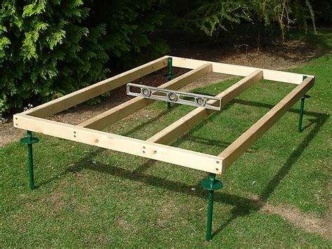 build  shed base ideas advice diy  bq