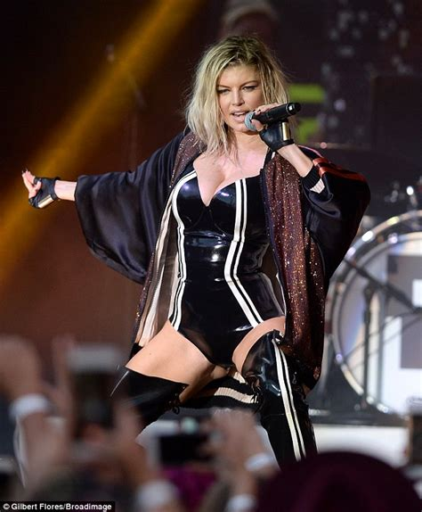 Fergie Live From The Pearl At The Palms Vip Sky Lounge by Fergie Wears One During Pandora Summer Crush