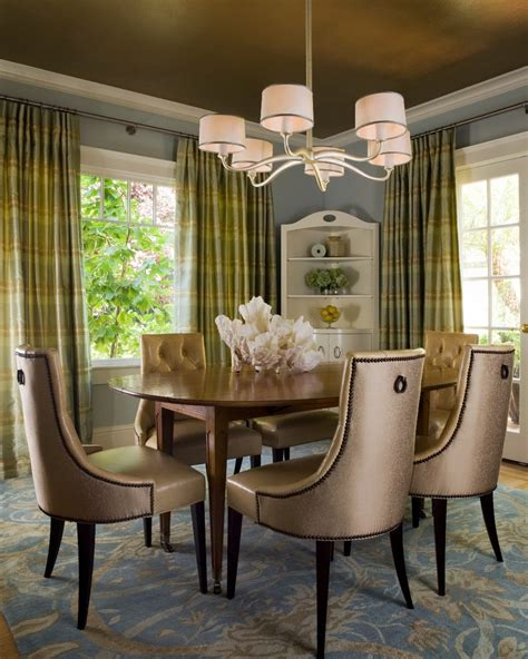 Green Dining Room by 10 Green Dining Room Design Ideas
