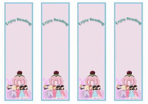 Printable Princess Bookmarks | princess bookmarks birthday printable