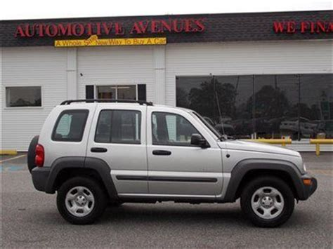 Jeep Liberty 2004 Price Buy Used 2004 Jeep Liberty Sport 4wd Best Price Must See