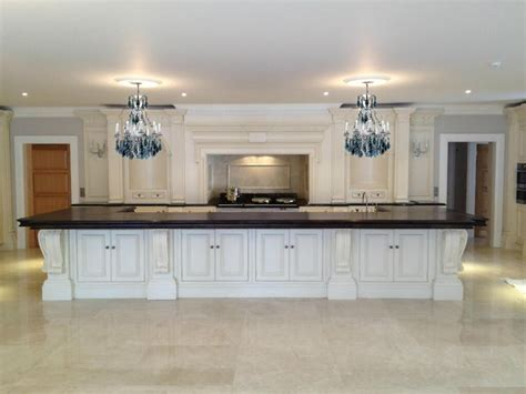 Clive Christian Kitchen Cabinets Clive Christian Architectural Kitchen In Ivory One Of The Larger Ones We Designed The