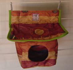 Handmade Rat Hammocks - handmade rat hammocks or cuddle cups for the zoo
