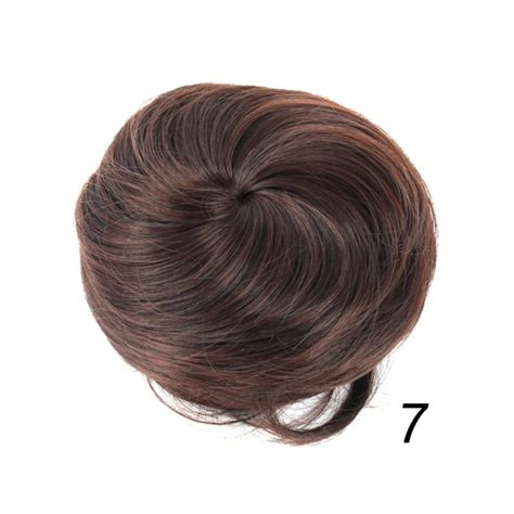 Hair Clip Bun s drawstring hair bun cover hairpiece clip in synthetic extension ponytail ebay