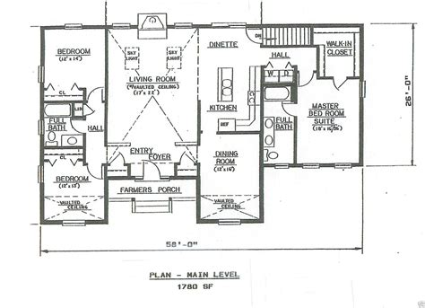 garage under house floor plans 3 bdrm 2 bath 1780 sf hip roof ranch 2 car garage under