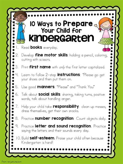 10 Ways To Prepare For A Baby colors and kindergarten 10 ways to prepare your child for